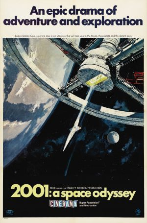 Cartaz 2001 Uma Odisséia no Espaço