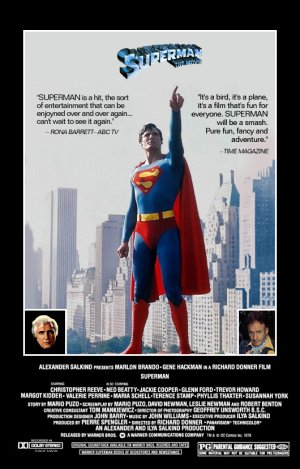 Cartaz Superman - O Filme