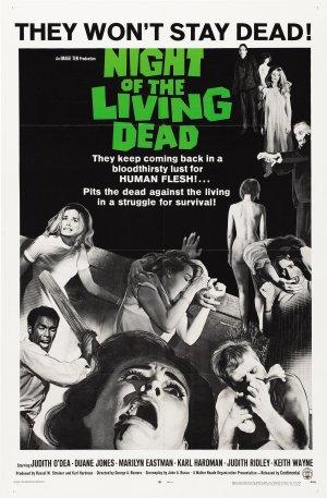 Cartaz A Noite dos Mortos Vivos