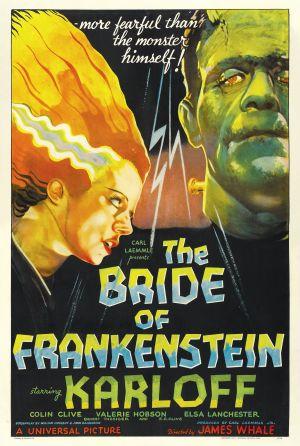 Cartaz A Noiva de Frankenstein