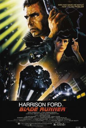 Cartaz Blade Runner, o Caçador de Andróides