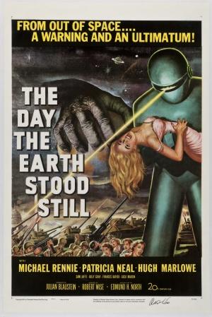 Cartaz O Dia em que a Terra Parou