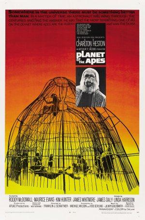 Cartaz O Planeta dos Macacos