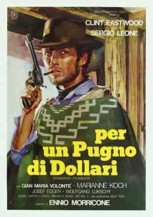 Cartaz Por um Punhado de Dólares