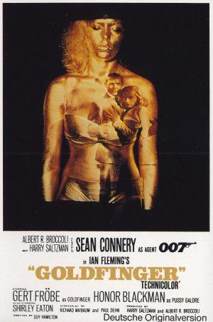 Cartaz 007 contra Goldfinger