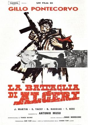 Cartaz A Batalha de Argel