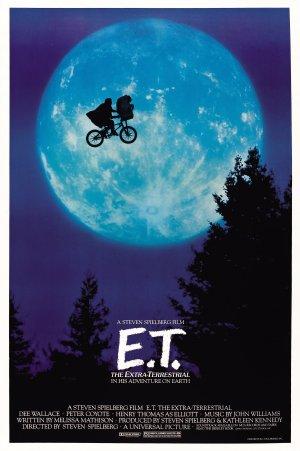 Cartaz E.T. - O Extraterrestre