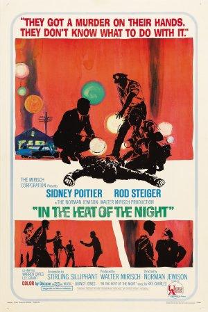Cartaz No Calor da Noite