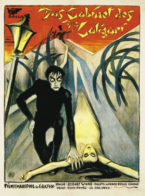 Cartaz O Gabinete do Dr. Caligari