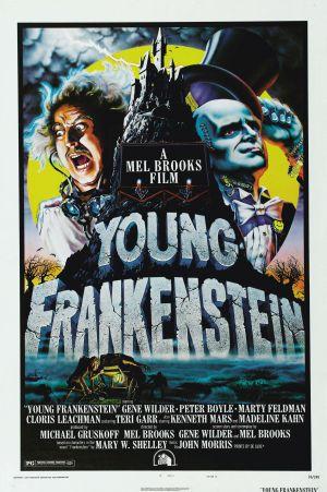 Cartaz O Jovem Frankenstein