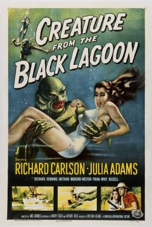 Cartaz O Monstro da Lagoa Negra