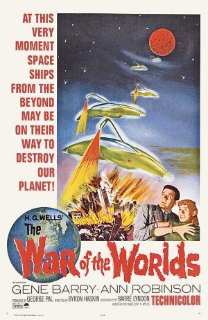 Cartaz Guerra dos Mundos