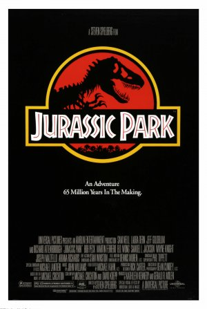 Cartaz Jurassic Park - Parque dos Dinossauros