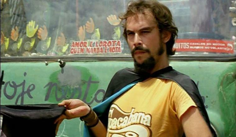 José Wilker em cena de Bye Bye Brasil