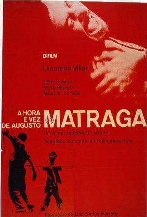Cartaz A Hora e a Vez de Augusto Matraga