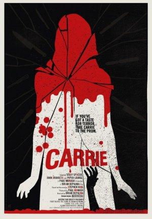 Cartaz Carrie, a Estranha