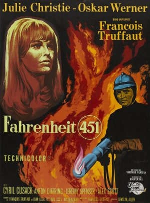 Cartaz Fahrenheit 451