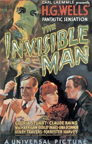 Cartaz O Homem Invisível