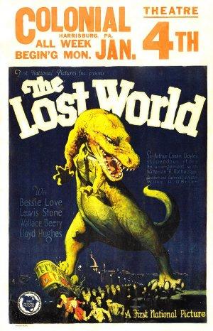 Cartaz O Mundo Perdido