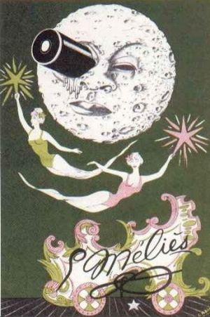 Cartaz Viagem à Lua