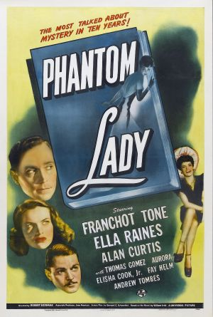 Cartaz A Dama Fantasma