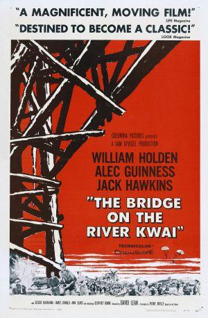 Cartaz A Ponte do Rio Kwai