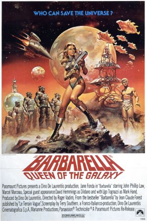 Cartaz Barbarella