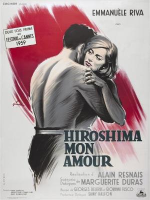 Cartaz Hiroshima Mon Amour