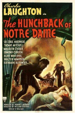 Cartaz O Corcunda de Notre Dame (1939)