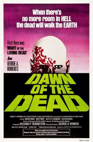 Cartaz Zombie - O Despertar dos Mortos