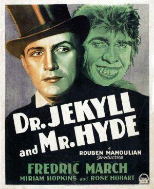 Cartaz O Médico e o Monstro 1931
