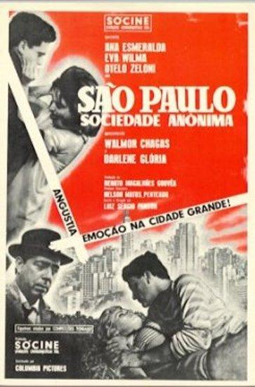 Cartaz São Paulo Sociedade Anônima