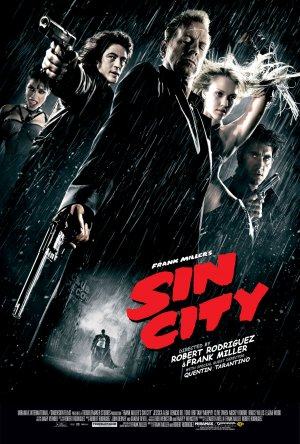Cartaz Sin City - A Cidade do Pecado