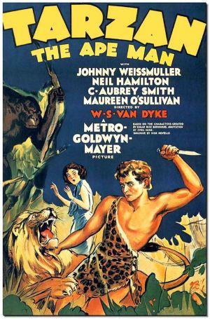 Cartaz Tarzan, o Filho das Selvas