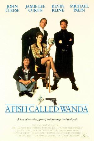 Cartaz Um Peixe Chamado Wanda