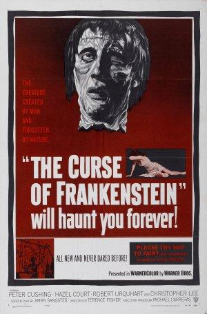 Cartaz A Maldição de Frankenstein