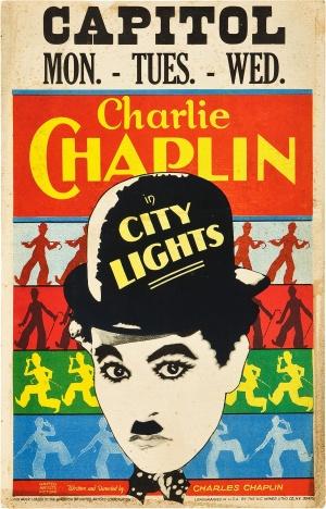 Cartaz Luzes da Cidade