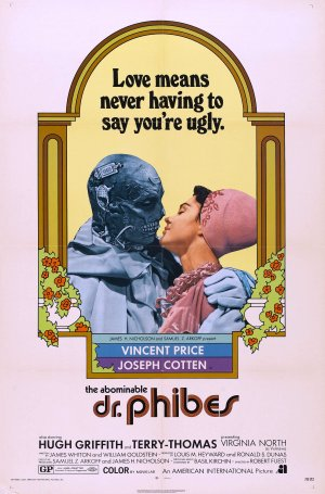 Cartaz O Abominável Dr. Phibes