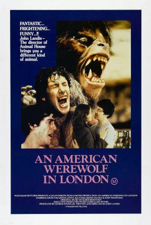 Cartaz Um Lobisomem Americano em Londres