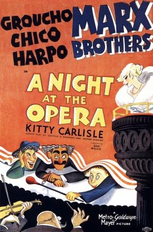 Cartaz Uma Noite na Ópera