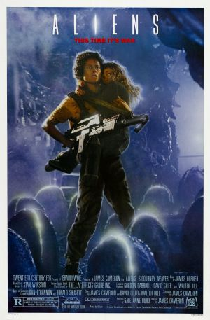 Cartaz Aliens - O Resgate