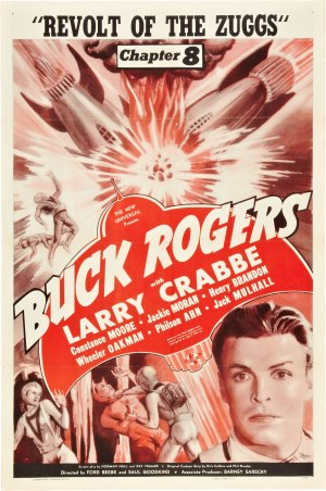 Cartaz Buck Rogers