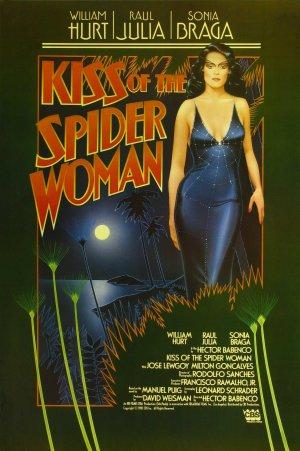 Cartaz O Beijo da Mulher Aranha