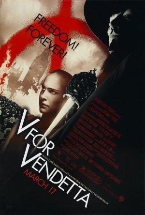 Cartaz V de Vingança