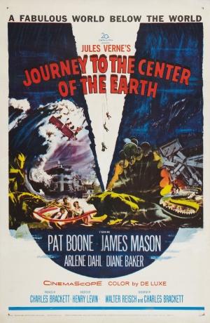 Cartaz Viagem ao Centro da Terra