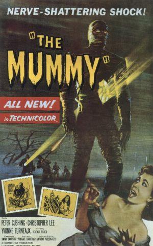 Cartaz A Múmia (1959)