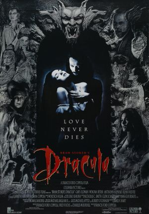 Cartaz Drácula de Bram Stoker