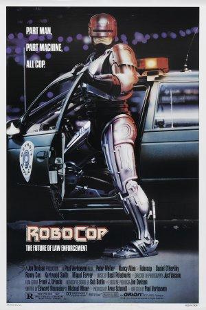 Cartaz Robocop
