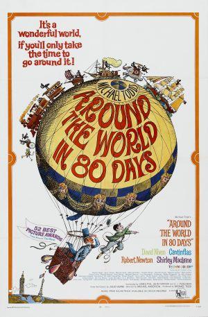 Cartaz A Volta ao Mundo em 80 Dias