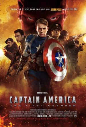Cartaz Capitão América - O Primeiro Vingador